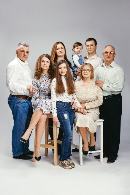 Большой семьи