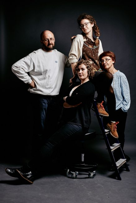Игорь, Ирина, Юля и Полина